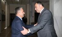 TAŞDELEN - Başkan Taşdelen'den Çankaya'nın Yeni Kaymakamına Ziyaret