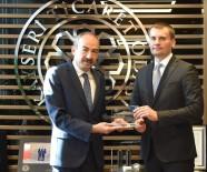 ORGANİZE SANAYİ BÖLGESİ - Belarus Cumhuriyeti Heyeti KTO'yu Ziyaret Etti