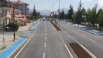 Bolvadin'deki Yol Yapım Çalışmalarında Büyük Başarı
