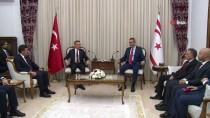 FUAT OKTAY - Cumhurbaşkanı Yardımcısı Oktay, KKTC Meclis Başkanı Uluçay İle Bir Araya Geldi