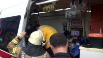 SANAYİ SİTESİ - Esenyurt'ta Kamyon Tır'a Çarptı  Açıklaması1 Yaralı