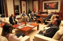 MECLIS BAŞKANı - GTB'den HKÜ Rektörü Sözen'e 'Hayırlı Olsun' Ziyareti