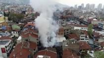 KAYHAN - GÜNCELLEME - Bursa'da Kayhan Çarşısı Bölgesinde Yangın