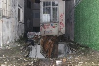 Güngören'de Çökme Riski Bulunan Bina Boşaltıldı