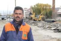 YÜRÜYÜŞ YOLU - Gürpınar Belediyesinden Hummalı Çalışma