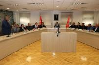 POLİS İMDAT - İl Emniyet Müdürü Dinç, Mahalle Muhtarlarıyla Bir Araya Geldi