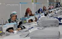 İlçenin Kadınları Tekstil Atölyesi İle İhracata Kapı Araladı