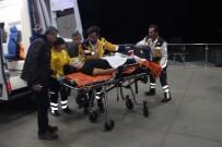 SELÇUK ÜNIVERSITESI - Kendini Göğsünden Vuran Genç Ağır Yaralandı