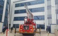 Kırklareli Devlet Hastanesinde Yangın Tatbikatı
