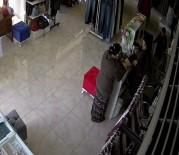 KAVAKLı - (Özel) Ufak Çocuğu İle Birlikte Hırsızlık Yapan Sözde 'Anne' Kamerada