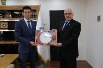 MUSTAFA GÜL - PTT Başmüdürü Ocak'tan Kaymakam Kaçmaz'a Ziyaret