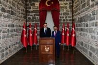 AÇIKÖĞRETİM - Rektör Çomaklı'dan Diyarbakır Valisi Güzeloğlu'na Nezaket Ziyareti