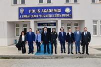 AÇIKÖĞRETİM - Rektör Çomaklı'dan, Polis Meslek Yüksekokulu Müdürü Yarım'a Ziyaret