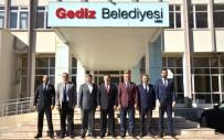 OSMAN YıLMAZ - Rektör Gören'den Belediye Başkanı Akçadurak'a Ziyaret