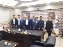 TÜGVA'dan Başkan Arslanca'ya Ziyaret