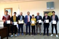 ANADOLU LİSESİ - Akdenizli Öğrencilerden Bilim Olimpiyatlarında Büyük Başarı