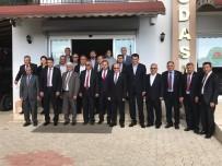 SOSYAL GÜVENLIK - Antalya Ziraat Odaları Kaş'ta Toplandı