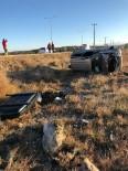 Ayvalık'ta Trafik Kazası Açıklaması 1 Yaralı