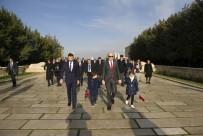 Bahçeşehir Koleji Öğrencilerinden Anıtkabir'e Ziyaret