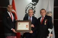 HASAN CEYLAN - Başkan Acar'a Şeref Madalyası Ve Onur Belgesi Verildi