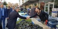 Başkan Çınar, Pazarcı Esnafını Ziyaret Edip Talepleri Dinledi
