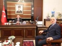 SAKARYA VALİSİ - Başkan Öztürk'ten Vali Nayir'e Hayırlı Olsun Ziyareti