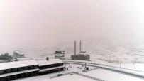 Erciyes'e Lapa Lapa Kar Yağdı