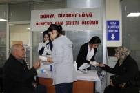 DERNEK BAŞKANI - GAÜN Hastanesi'nde 'Dünya Diyabet Günü' Etkinlikleri