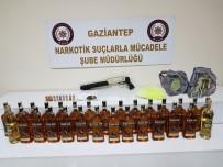 Gaziantep'teki Kaçak İçki Operasyonu Açıklaması 6 Gözaltı