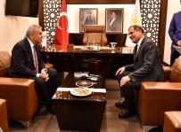 Genel Başkanların Görüşmesi Sonrası Kocaoğlu'ndan Dikkat Çeken Ziyaret
