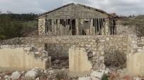 SAMANLıK - İstimlak Edilen Köyde Yıkım Çalışmaları Başladı