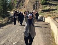 KENT ORMANI - Kahramanmaraş'ta Kadınlar Yürüyüş Yaptı