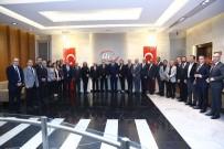 FATİH ÇALIŞKAN - Kıbrıs Türk Ticaret Odasından ATO'ya Ziyaret