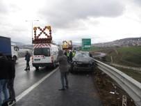 KADIN SÜRÜCÜ - Kuzey Marmara Otoyolu'ndaki Kazada Lüks Cip Hurdaya Döndü Açıklaması 1'İ Ağır 3 Yaralı