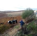 Otomobil Şarampole Yuvarlandı Açıklaması 1 Ölü
