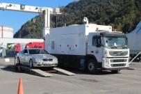 YAKIT DEPOSU - Sarp Sınır Kapısı'nda Kaçakçılara Geçit Verilmiyor
