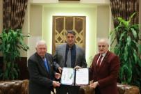 TÜRKİYE ATLETİZM FEDERASYONU - TAF'dan Rektör Polat'a Teşekkür Belgesi