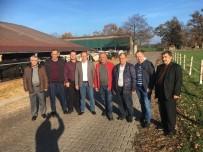 SÜT ÜRÜNLERİ - Tekirdağ DSYB Üyeleri Almanya'da Eurotier'a Katıldı