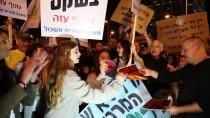 AVIGDOR LIBERMAN - Tel Aviv'de Netanyahu Karşıtı Protesto