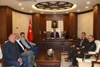 AHMET TURAN - Vali Akbıyık'a Ziyaretler Devam Ediyor