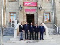 REKTÖR - Vali Seymenoğlu, SDÜ Yönetimini Ağırladı