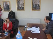 Van Büyükşehir Belediye Başkan Aday Adayı Asena Türkoğlu Ateş'ten Van ESOB'a Ziyaret
