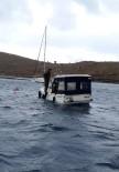 YALıKAVAK - Arızalan Tekne Mürettebatını Sahil Güvenlik Kurtardı