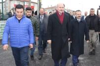 İÇİŞLERİ BAKANI - Bakan Soylu'dan, Öldürülen Karacan'ın Ailesine Taziye Ziyareti