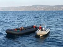 YALıKAVAK - Denizlerde 1 Haftada 278 Göçmen İle 8 Göçmen Kaçakçısı Yakalandı