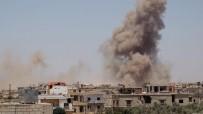 HAVA SALDIRISI - Deyrizor'a Hava Saldırısı Açıklaması 40 Ölü