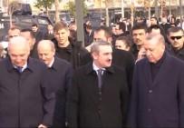 RECEP TAYYİP ERDOĞAN - Erdoğan Başakşehir Merkez Camii'nde İncelemelerde Bulundu