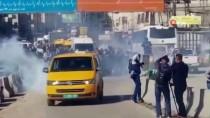 PROTESTO - İsrail Askerleri Gazetecilerin Eylemlerine Müdahale Etti