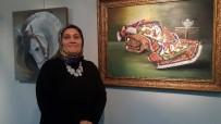 RESIM SERGISI - Kerkük Türkleri Resim Sergisinde Buluştu