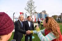 CANAN KAFTANCIOĞLU - Kılıçdaroğlu Maltepe Cumhuriyet Parkı'nı Ziyaret Etti